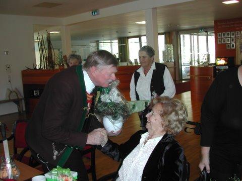 90iger Maria-Luise Schwierz