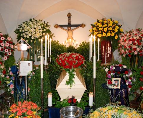 Begräbnis Anton Gründler