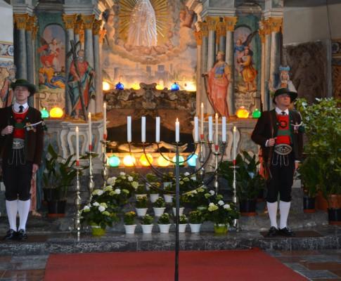 Ehrenwache am Ostergrabe 2016