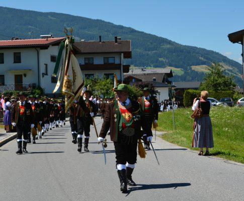 68. Schützenfest des Bataillons Schwaz am Weerberg 2016