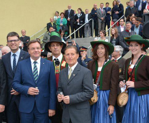 Verabschiedung des Bezirkshauptmanns Dr. Karl Mark und Vorstellung des neuen BH Dr. Michael Brandl