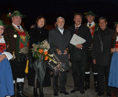 Feier zum 80. Geburtstag von Ehrenoffizier Siegfried Steinwandter