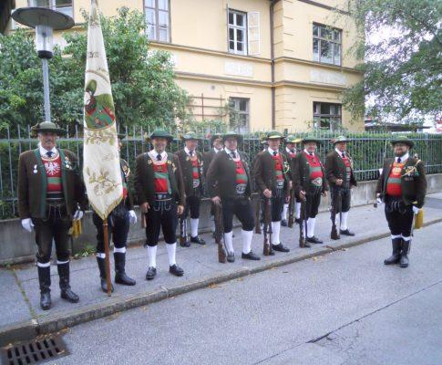 85 Jahre Speckbacherschützen Hall 8. Sept. 2019